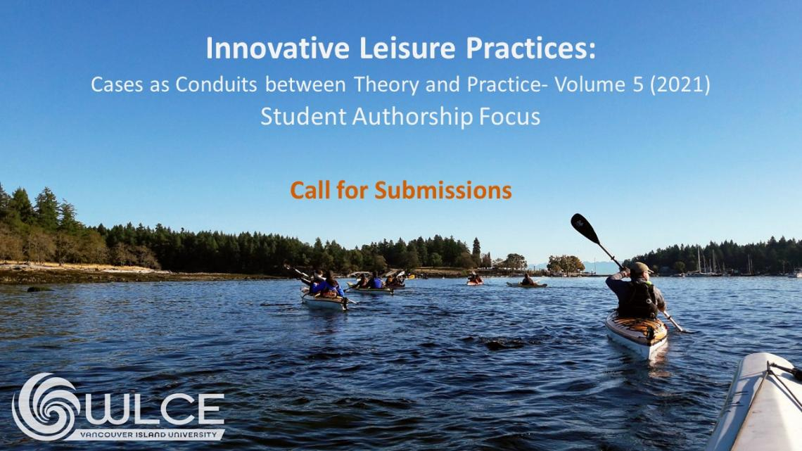 Innovative Leisure Practices Call for submissions
