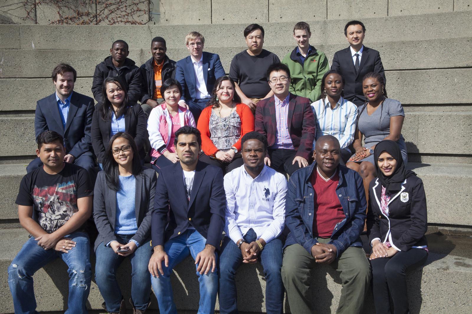 MBA graduating students 2015